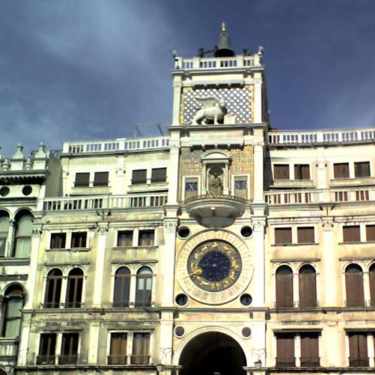 The Clock Tower in St. Mark's Square